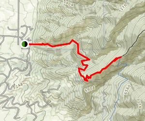Sypes Canyon Map