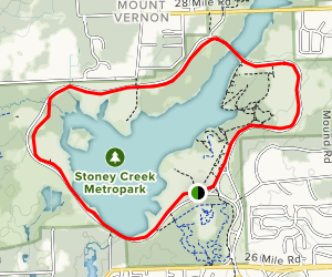 Stony Creek Metropark Map Stony Creek Metropark Trails   Michigan | AllTrails