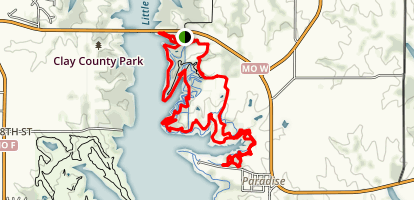 Smithville Lake Trails Map