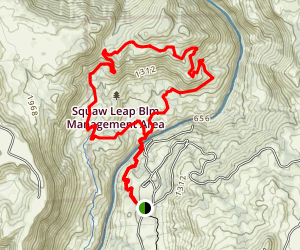 Pa'san Ridge Trail Map