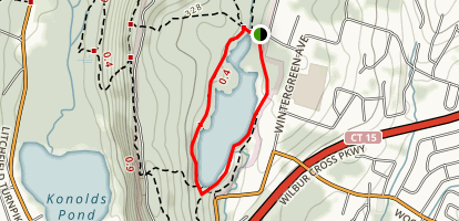 Lake Wintergreen Trail Map