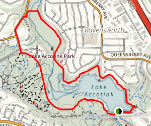 Lake Accotink Trail Map