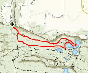 Ancient Lakes Trail Map