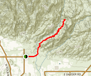 Phoneline Trail Map