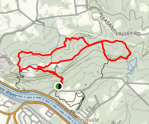 Ted Stiles Preserve at Baldpate Mountain Map