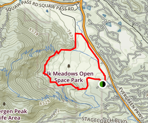 Elk Meadow Map