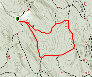Ward Pound Ridge Reservation Trail Map