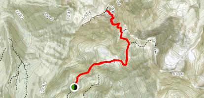 Cheam Peak Map
