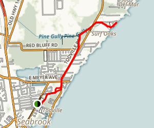 Pine Gully Trail Map