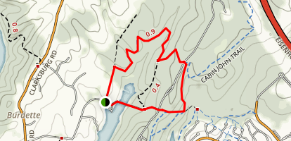 Cabin John Trail Loop Map