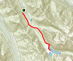 South Fork Eagle River Trail [CLOSED] Map