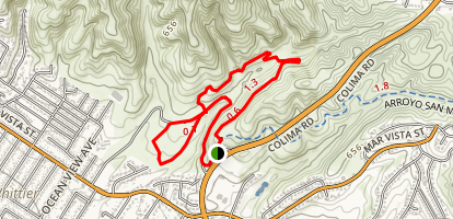 Arroyo Pescadero Trail Map