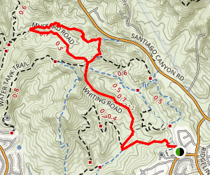 Billy Goat Loop Trail Map