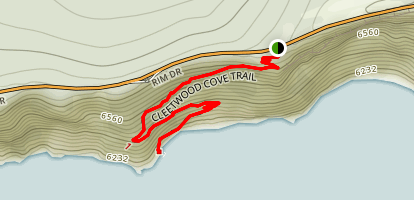 Cleetwood Cove Trail Map