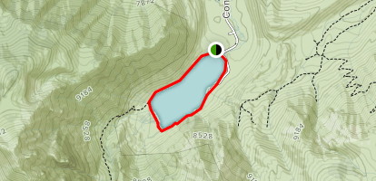Convict Lake Loop Trail Map
