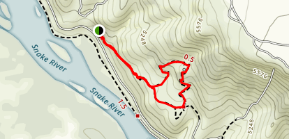 Cress Creek Trail Map