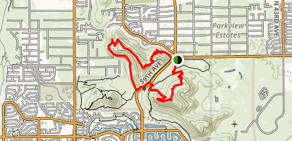Arrowhead Point and Cholla Loop Map
