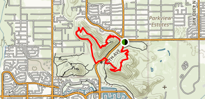 Thunderbird H-1 H-2 H-3 Loop Trail Map