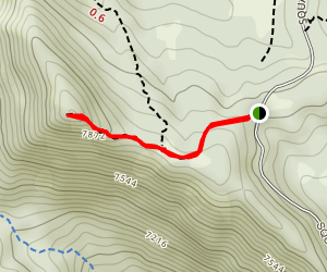 Buffalo Peak Trail Map
