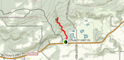 Parfrey's Glen Trail Map