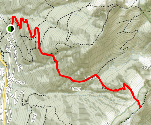 The Lions (Binkert) Trail Map