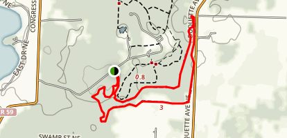 Quail Hollow Park Trail Map