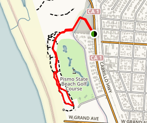 Monarch Butterfly Grove and Meadow Creek Trail Map