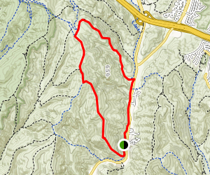 Big Bend, Bommer Ridge, Willow Trail  Map