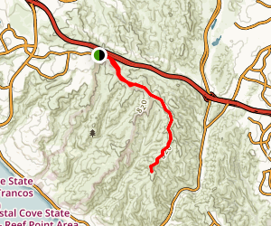 Bommer Ridge Trail Map