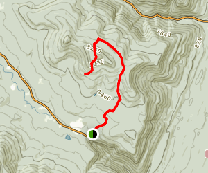 Kaaterskill High Peak South Trail Map