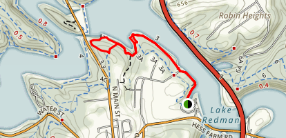 Lake Redman Map