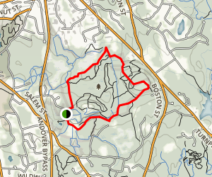 Vetter Trail and Ward Trail Loop Map
