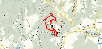 Poor Farm Park Trails Map