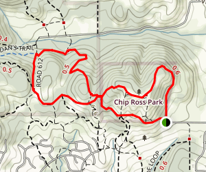Chip Ross Lower Dan Loop Trail Map