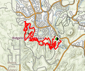 Ridgeline Open Space Map