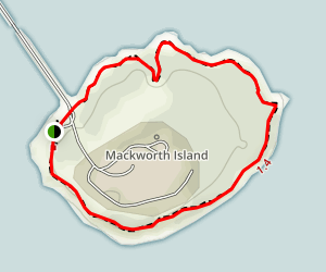 Mackworth Island Trail Map