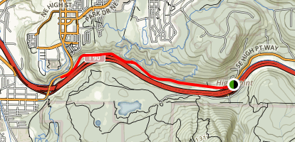 High Point Trail Map