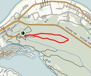 Osmanthus Trail Map