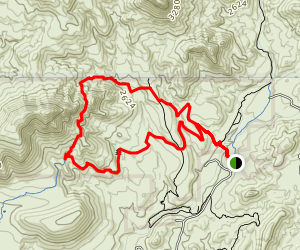 Elephant Mountain Trail Map
