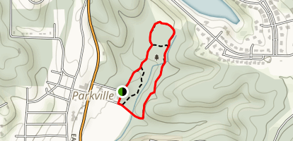 Old Kate Trail - Parkville Nature Sanctuary Map