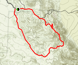 Lost Horse Mine Loop Trail Map