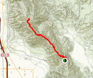 North Skyline Trail Map