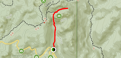 Cathedral Spires Trail Map