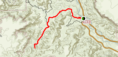 The Lighthouse Trail Map