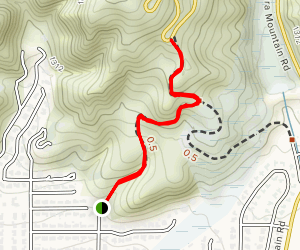 Colby Trail Map
