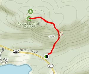 Rocky Mountain Summit Map