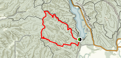 Scarce O'Fat Trail Map