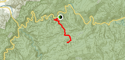 Meigs Creek Trail Map