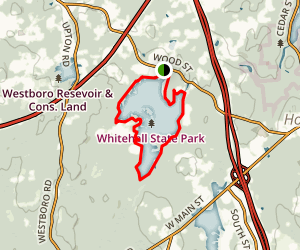 Whitehall Reservoir Map