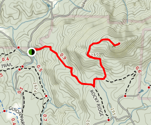 Stone Mountain Hike Map